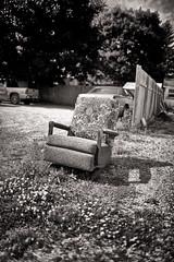 Lone Chair (Metro Tiff) Tags: old canon chair rocker single reclining ef35l 5dmk3