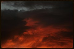 Red Cloudscape (Zelda Wynn) Tags: sunset red sky clouds auckland cloudscape troposphere weatherwatch zeldawynnphotography