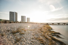 Fehmarn (pixiepeeper) Tags: sea beach water sunrise deutschland dawn long exposure sony balticsea insel ostsee fehmarn schleswigholstein a99 sal1635f28z