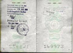 SFR Yugoslavia (Kosovo) Passport (Taylor Mc) Tags: turkey germany munich bulgaria kosovo former passport expired dortmund deportation yugoslavia passeport jugoslavija sfryugoslavia