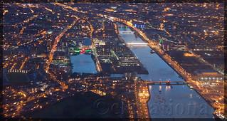 River Liffey through Dublin City