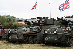 Alvis Scorpions 06FD72 & 08FD18 (NTG's pictures) Tags: show military scorpion sabre scorpions trust vehicle and trucks fighting combat society tanks alvis spartan firepower tracked 2014 reconnaissance cvrt scimtar 06fd72 08fd18