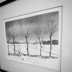 Tanaka Ryohei etching