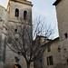 Clocher (XIIIe) de l'église Saint Etienne, Uzès, Gard, Languedoc-Roussillon, France.