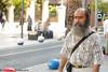 Angry look (`ARroWCoLT) Tags: street beard bokeh istanbul photograhy sokak kadıköy sakal bahariye