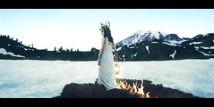 A Hidden Influence (Simon McCheung) Tags: seattle portrait snow cinema sarah fire stag secret mount fantasy rainier ann lantern concept conceptual cinematic influence foest loreth mccheung nwfg2013 mccheung888 nwfg2013a