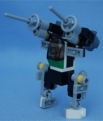 RB-81 Bombadier, Model B (Mantis.King) Tags: lego scifi mecha mech moc bombadier microscale mechaton mfz mf0 mobileframezero