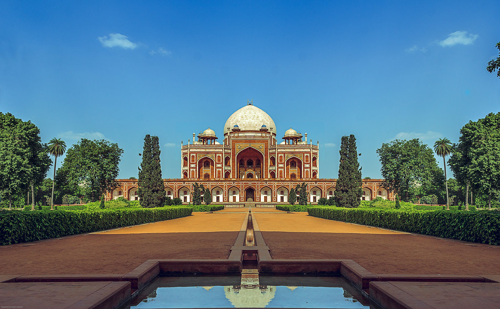 travel sky india building tourism architecture exterior delhi famous religion tomb landmark tourist dome mughal humanyun