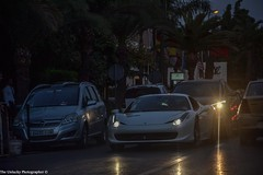 Ferrari 458 italia (The Unlucky Photographer) Tags: italia ferrari maroc marrakech sportcar whitecar carspotting 458 italiancar worldcars ferrari458 458italia ferrari458italia