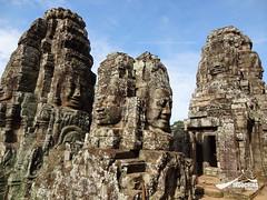 Stone Head of Bodhisattva Avilokiteshvara, Bayon Temple, Cambodia