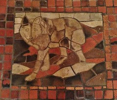 Untitled (ArtFan70) Tags: usa art animal america wolf downtown unitedstates pennsylvania mosaic mercer pa capitol harrisburg statecapitol statehouse henrymercer downtownharrisburg pennsylvaniastatecapitol henrychapmanmercer