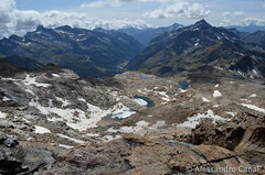 Panorama verso la Val di Gressoney