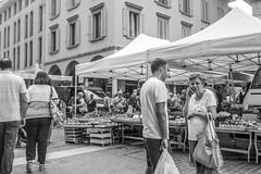 Vienna Calling (august_brain) Tags: street city urban woman italia phone market mercato lombardia stradale citt cremona cittadino retrosesos astoriacremona