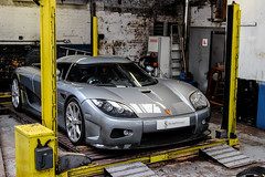 Workshop. (Reece Garside | Photography) Tags: summer sun london history car canon silver sweden supercar koenigsegg spotter ccx hypercar worldcars supervettura
