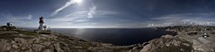 Lindesnes fyr Panorama (210MP) (chipsewi) Tags: summer panorama lighthouse norway norge nikon sommer norwegen freehand fyr leuchtturm lindesnes freihand polfilter d810