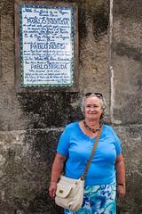 Christine on Capri - Pablo Neruda (Briantc) Tags: italy capri notice directions notices