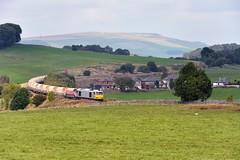 Crawling Up That Hill (whosoever2) Tags: uk england buxton diesel derbyshire peakdistrict rail limestone locomotive dbs highpeak 2014 schenker class60 tatasteel harpurhill 60099 6h22