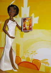 I'm almost there... (fairy175) Tags: white set doll dress singing deluxe disney tiana