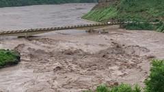 Poonch River at Gulpur Azad Kashmir 2014 (aazr_caa) Tags: azhar khuiratta gulpur azharhussain flood2014 azharhashmikhuiratta