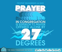 27 degrees !! (Islamic knowledge) Tags: wallpaper english photo image muslim islam prayer religion pray praying pic messenger muslims 27 teach prophet share mercy muhammad islamic salah degrees remainder hadeth instagram