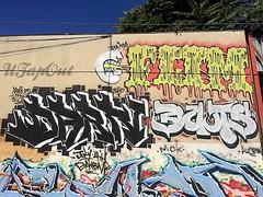 (UTap0ut) Tags: california art cali graffiti la los paint angeles socal cal graff darn flim douts utapout