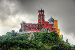 Pena Natoinal palace Cintra Portugal (saleem shahid) Tags:
