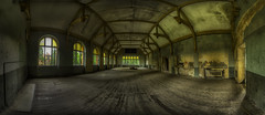 gym (CONTROTONO) Tags: urban bw panorama man cold male men texture abandoned beautiful sport architecture training vintage dark tile shower graffiti hall blackwhite rust peeling industrial loneliness play floor stitch cloudy body muscle decay mosaic steel room pano exploring awesome explorer butt perspective chesthair wideangle indoor running location ceiling stained forgotten urbanexploration jail sweat maze stitching photomerge disused column weightlifting powerplant dormitory athlete drama exploration derelict triathlon decayed decaying dereliction bulge jailed urbex bodyhair virile panoramaview explored controtono