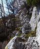 Scaletta discesa Grotta di San Giovanni - Majella - Abruzzo - Italy