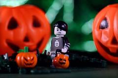 Spoopy (Frost Bricks) Tags: lego spooky boy minifigure haloween bug pumpkin