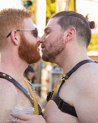 IMG_0391fix (dansplit NY) Tags: folsom kiss love gaypride gay lust
