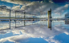 Which way is up Cloud - Sky Reflection Water Bridge - Man Made Structure No People Ontario, Canada Canada Coast To Coast Upside Up Upside Down Upsidedown Nikon D7000 (timmahh67) Tags: cloudsky reflection water bridgemanmadestructure nopeople ontario canada canadacoasttocoast upsideup upsidedown nikond7000