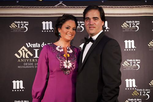Miriam Galiano Marcos y Toño Constantino Pérez. Restaurante Venta de Aires de Toledo.