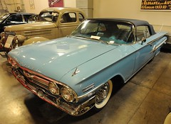 1960  Chevrolet Impala convertible (D70) Tags: 1959 chevrolet convertible 1960 impala crevierclassiccarcompany costamesa california usa