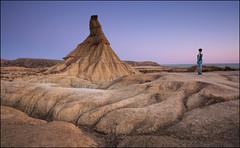 Bardenas Reales (jeanny mueller) Tags: bardenasreales desert mountain rock sunset sunrise landscape spanien spain espana outdoor navarra