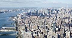 1 WTC - Views (nycgeo) Tags: wtc oneworldtradecenter canon nyc manhattan 50mmf12 skyline