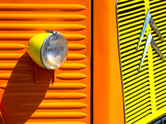 BRYAN_20160705_IMG_8633 (stephenbryan825) Tags: cheeseontoastvan liverpool abstracts boldshapes cars contrast details graphic hardlight harsh minimalist orange reflection selects shadows simplecomposition simplicity strongcolour tightlycomposed uncluttered vehicles yellow