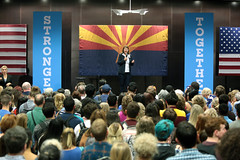 Ann Kirkpatrick (Gage Skidmore) Tags: chelsea clinton hillary daughter mother campaign rally arizona state university memorial union tempe student 2016 ann kirkpatrick congressman congreswoman united states