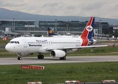 Yemenia A320-233 7O-AFA (Retro Jets) Tags: yemenia a320 fra