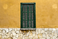 Shutter (CWhatPhotos) Tags: cwhatphotos camera photographs photograph pics pictures pic picture image images foto fotos photography artistic that have which contain with olympus four thirds 43 spanish spain mallorca majorca island october 2016 weather alcudia wall abstract windows square color colors colour colours view lines straight line vertical horizontal shutter shutters building buildings architecture colorful colourful shapes