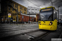 ManchesterVictoria2016.10.09-4 (Robert Mann MA Photography) Tags: manchester manchestervictoria manchestercitycentre greatermanchester england victoria victoriastation manchestervictoriastation manchestervictoriarailstation victoriarailstation city cities citycentre architecture summer 2016 sunday 9thoctober2016 manchestermetrolink metrolink trams tram nightscape nightscapes night light lighttrails