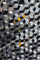 Harpa Ceiling (Inanimate Carbon Rod) Tags: canon eos 5ds iceland harpa pattern repetition reykjavik