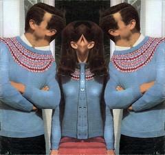 The Strange Adventure That Is Going Back To Dating (brancusi7) Tags: thestrangeadventurethatisgoingbacktodating absurd dadapop knitting knitted knittingsurrealism dadaknits odd weird strange creepy bizarre brancusi7 johnseven wool