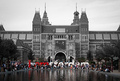 Museumplein (primo2424) Tags: amsterdam cityscape landscape europe holland netherlands nature architecture canals oldworld bikes