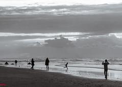 Une soire joyeuse (MRI2009) Tags: merdunord mer ctebelge coucherdesoleil plage nieuwpoort