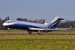 M-STAR  B727-2X8(RE) (n707pm) Tags: mstar b727 boeing 727 corporate executive airport aircraft airplane einn coclare ireland snn 29112016 shannonairport starlingaviation cn22687