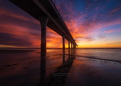 """Fier"" (DanielBartolo) Tags: colours sunrise golden hour clouds beach seascape landscape sun architecture sand morning newzealand christchurch nz"