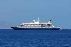 Sea Dream II (Steenjep) Tags: patmos holiday ferie greece grækenland skala harbour seadreamyachtclub yacht seadreamii