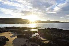 _DSC0185 (Nacho_71) Tags: costa orilla del mar playa oceano cantabrico agua puesta de sol asturias