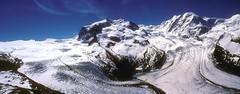 Monte Rosa Panorama (woodchuckiam) Tags: monterosa gornergrat moutains glaciers cliffs sky scenic landscape woodchuckiam