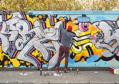 W.I.P. Hackney Wick street art, London (chripony29) Tags: canoneos5dmarkiii hackney hackneywick london aerosolart arbre automne autumn aérosol canon canonphoto chrome couleursdautomne fall fresque globalstreetart graff graffart graffiti graffitiart graffitiphotography hackneystreetart inprogress londongraffiti londonlife londonstreetart mur spray sprayart streetart streetarteverywhere streetartlondon streetartphotography tree urban urbanart urbanphotography urbanstreetart wall wallart wallporn warmcolors warmcolours wip workinprogress